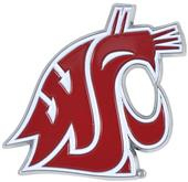 Fan Mats NCAA Washington St Colored Vehicle Emblem