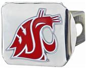 FanMat NCAA Washington St Chrome/Color Hitch Cover