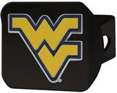 Fan Mats NCAA WV Black/Color Hitch Cover