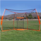 Bownet 9.5'x17.5' Portable Baseball Backstop
