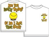 Utopia Softball Are you trying? Tshirt