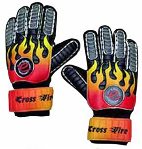 BLACK/RED & YELLOW FLAMES