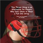 Schutt Batting Helmet Throat Straps
