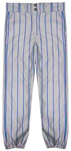 GREY PANT/ROYAL STRIPES