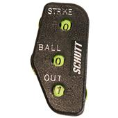 Schutt 3-Function Plastic Umpire Indicators