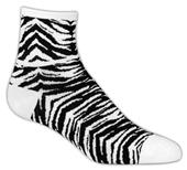 Red Lion Tiger/Zebra 1/4 Crew Athletic Socks