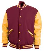 Game Sportswear The Varsity Wool/Leather Jackets