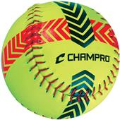 Champro CSB-52 Striped Training Softballs-Set of 2