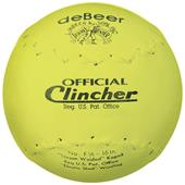 "deBeer 16"" Yellow Clincher Leather Softballs"