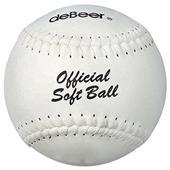 """deBeer 14"""" Specialty Flat Seam Softballs 6 pk"""