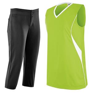 INCLUDES E67057 UNBELTED SOFTBALL PANTS