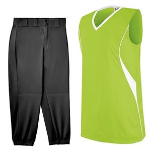 INCLUDES E22995 PRO STYLE LOW-RISE SOFTBALL PANTS