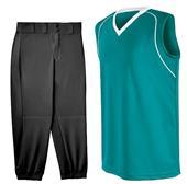 Womens Flex Sleeveless Softball Jersey Uniform Kit