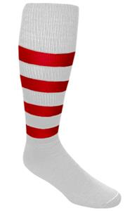WHITE/RED STRIPES