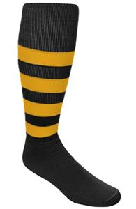 BLACK/GOLD STRIPES