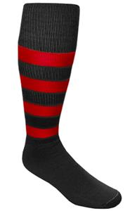 BLACK/RED STRIPES