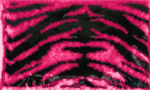 FLUORESCENT PINK/BLACK