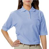 Blue Generation Ladies SS Teflon Pique Polo Shirt