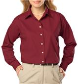 Blue Generation Ladies LS Easy Care Poplin Shirts