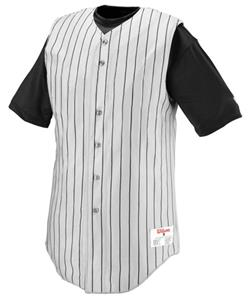 WHITE/BLACK PINSTRIPE - W/BP