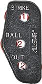ALL-STAR Baseball Umpire 3 Count Indicators