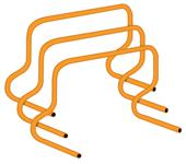 Champion Sports Plastic Speed Hurdles - 12""
