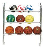 Champion Sports Ball Wall Rack