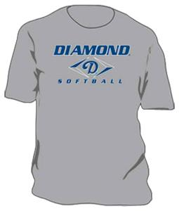 GREY (SOFTBALL T-SHIRT)