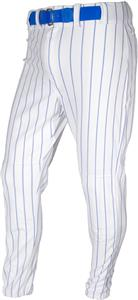 WHITE/ROYAL PINSTRIPE