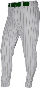 GREY/DARK GREEN PINSTRIPE