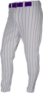GREY/PURPLE PINSTRIPE