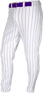 WHITE/PURPLE PINSTRIPE