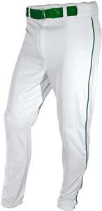 WHITE/DARK GREEN PIPING