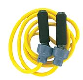 Champion Sports Solid Rubber Weighted Jump Ropes