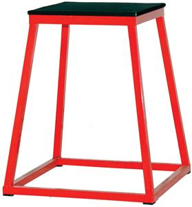 "RED BASE/BLACK TOP (TOP: 15""X15"")"