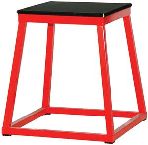 "RED BASE/BLACK TOP (TOP: 14""X14"")"