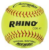 "Champion NFHS Optic Yellow 11"" Softballs (DOZENS)"