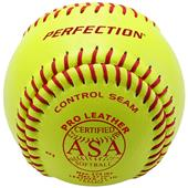 "Baden ASA Fast Pitch Leather 12"" Softballs (DZ)"