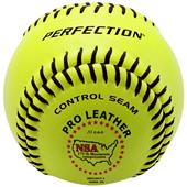 "Baden NSA Fast Pitch Leather 12"" Softballs (DZ)"