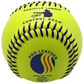 "Baden USSSA Fast Pitch Leather 12"" Softballs (DZ)"