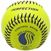 Baden USSSA Fast Pitch Leather Softballs (DZ)