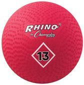 """Champion Playground & Kickball Nylon 13"""" Red Balls"""