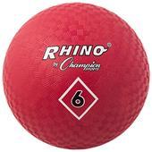 """Champion Playground & Kickball Nylon 6"""" Red Balls"""