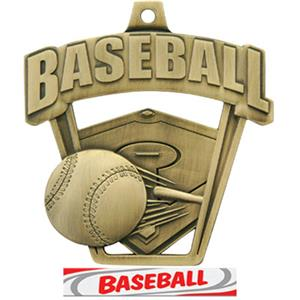 GOLD/DELUXE BASEBALL RIBBON