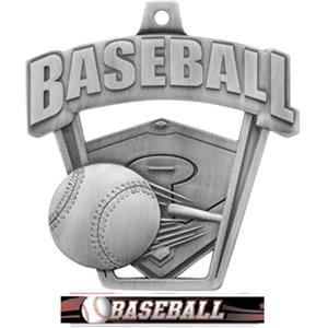 SILVER/ULTIMATE BASEBALL RIBBON
