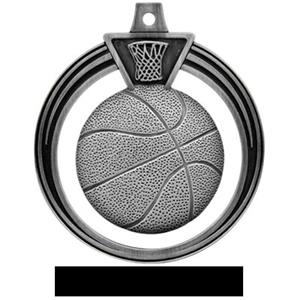 SILVER MEDAL/BLACK RIBBON