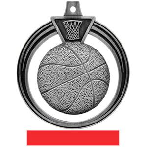 SILVER MEDAL/RED RIBBON