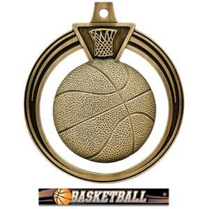 GOLD MEDAL/ULTIMATE BASKETBALL RIBBON