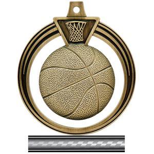 GOLD MEDAL/VICTORY WHITE NECK RIBBON