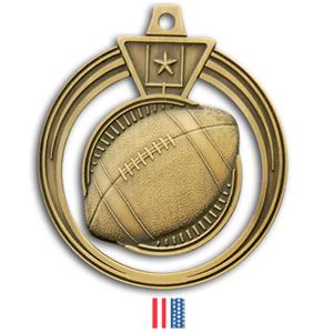 GOLD MEDAL/FLAG RIBBON